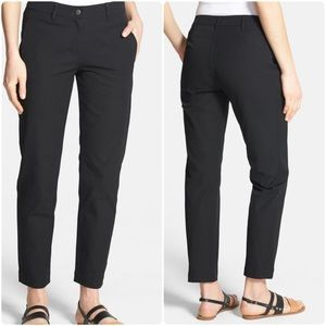 Slim Stretch Cotton Ankle Pants